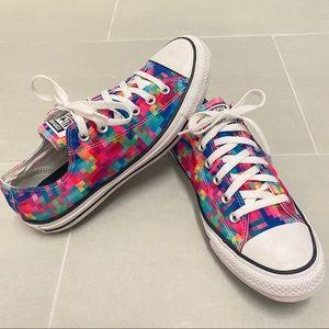 Converse All Star Chuck Taylor Pixels Sneaker 9 7